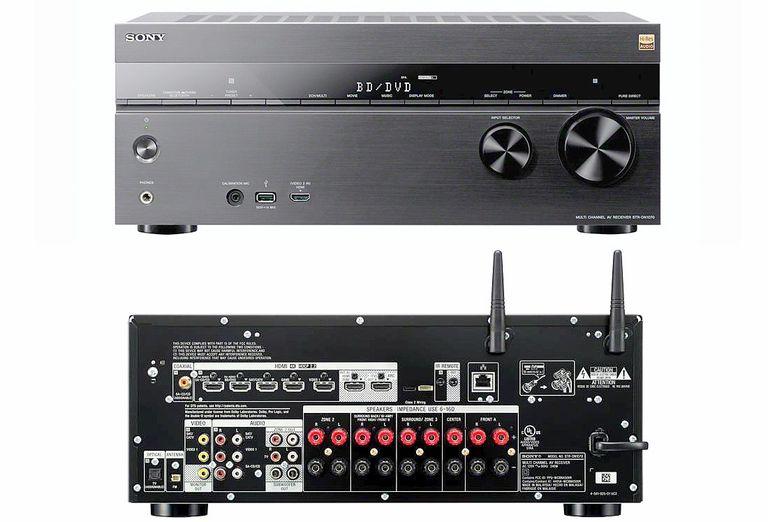 Ресиверы Sony: характеристики